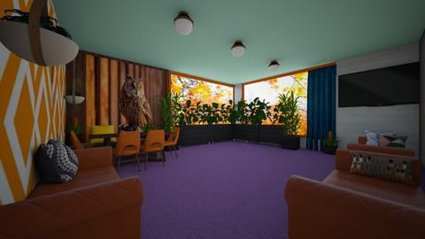 IndoorPlantLiving - Living room  - by PAPIdesigns