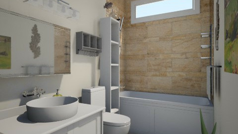 budget bathroom - Classic - Bathroom - by kat1016