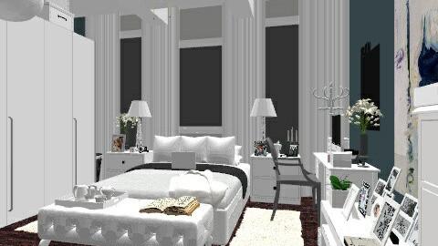 w - Minimal - Bedroom  - by nataliaMSG