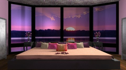 Sunset - Glamour - Bedroom  - by deleted_1566988695_Saharasaraharas