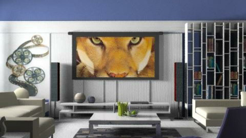 Time for the movie - Eclectic - Living room  - by liling