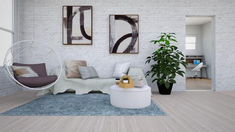 Serene Living - Eclectic - Living room  - by kamonela09