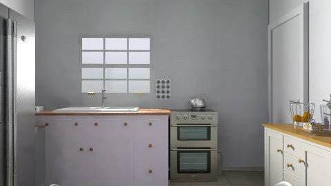 Cozinha - Lucas - Rustic - Kitchen  - by Carolina Macedo