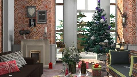 Alexa Hampton's Christmas - Eclectic - Living room  - by ateliertally