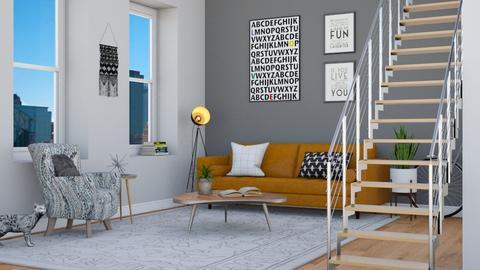 Loft ll - Living room - by lovedsign