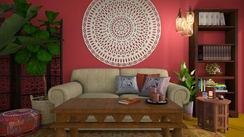 indiaL - Global - Living room  - by donella