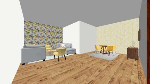r - Living room - by reemsaad