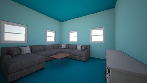 orange room - by emersonwaller