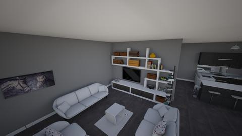 een muur idee - Living room  - by ANGELOTUMMINO