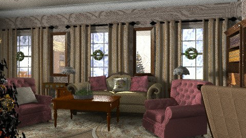 victorian - Classic - Living room  - by chania