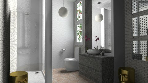 Light Shower Room - Modern - Bathroom  - by 3rdfloor