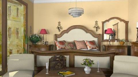 L. Bedroom - Classic - Bedroom  - by milyca8