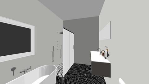 Tiffany master bathroom - Bathroom  - by michaelnjlin
