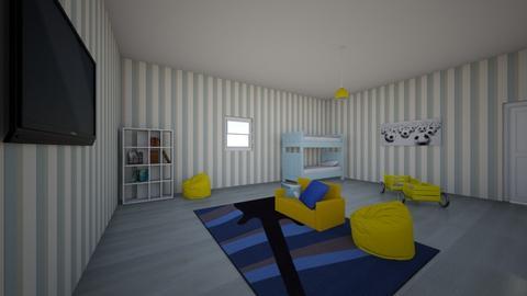 my nephews room - Vintage - Kids room  - by 931CHERRY