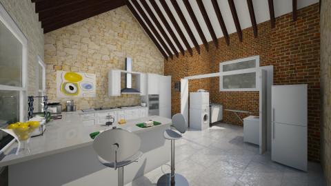 cocina 60 - Retro - Kitchen - by Almadeflores