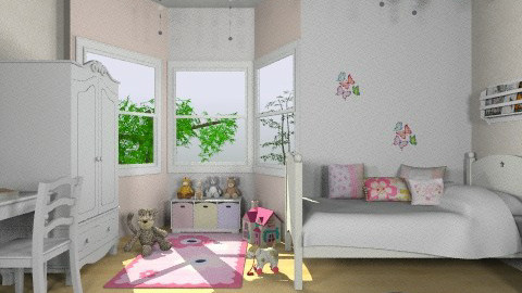Baby Lilu - Classic - Kids room  - by paolafa