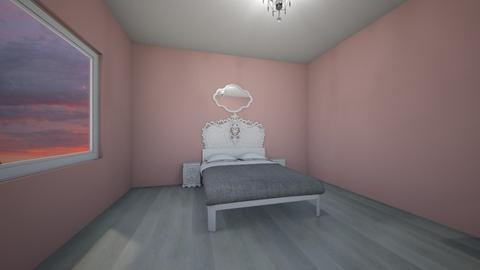 Pink Rococo Revival - Vintage - Bedroom  - by delwolf