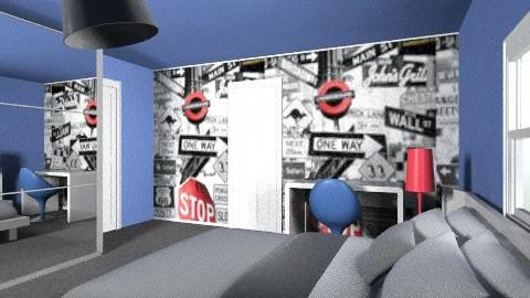 sashas room - Minimal - Kids room  - by kimrobb
