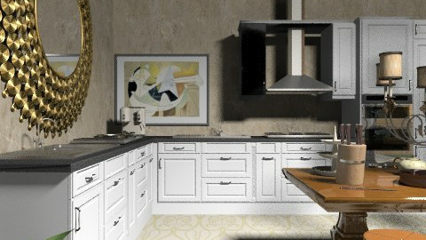 Old Summer days - Country - Kitchen  - by Your well wisher