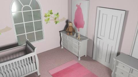 Twin Girls - Modern - Kids room  - by spookess