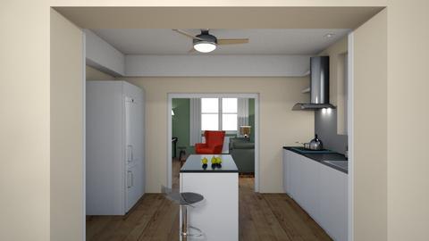 Family_kitchen_dini_v06_9 - Living room - by natajax