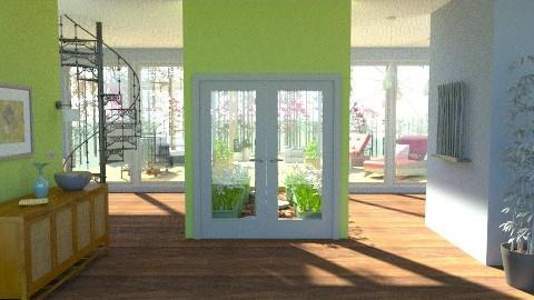 Courtyard View - Modern - Garden  - by ruthiec1