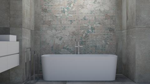 dado bathroom - Modern - Bathroom  - by szaboi