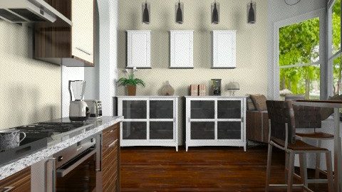 Suburban Kitchen - Kitchen  - by alasiamilan