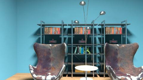 cowhide eggs - Modern - Living room - by Bryan Marquardt