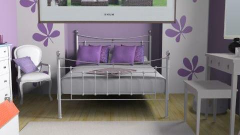 cuarto de mi sobrina - Glamour - Kids room  - by oliricescarraman