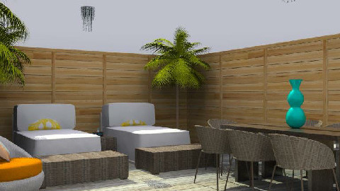 A Outdoo rRoom - Modern - Garden - by Mvlik