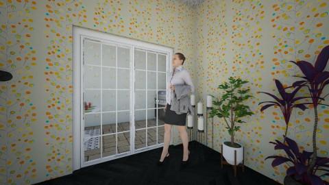Living Room Door - Living room - by Popcorn_Party
