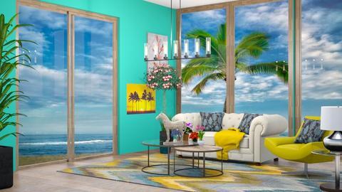 Hawaiian Sun Room - by HorseGirl_E09