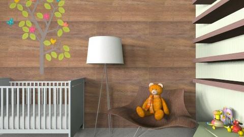 Woodland Nursery - Kids room - by Annaduley