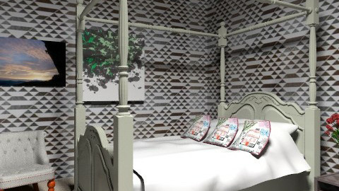 contemporary/classic  - Retro - Bedroom - by Hayat Ahmed