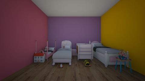 kids adopted bedroom  - Kids room  - by crying_room