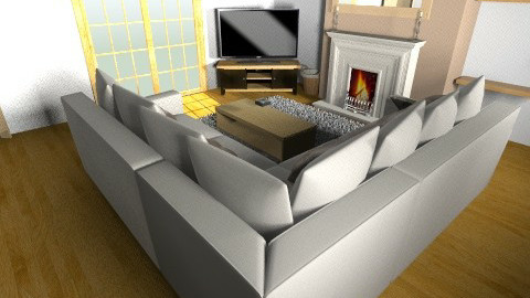 living room  new measuren - by seanlinehan86