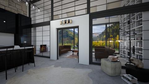 door - Living room  - by Mounir HSSIN