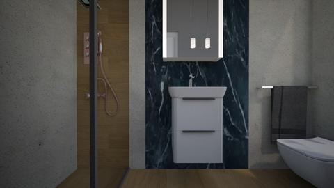 Cologno bagno ospiti12 - Bathroom - by natanibelung