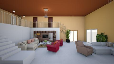 salon manu  - Living room  - by Manuela Alves