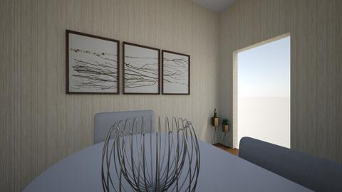 a basic dining room - Dining room  - by shayana_1