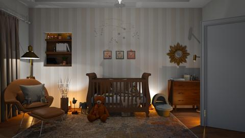 HELLO BABY - Kids room  - by zarky