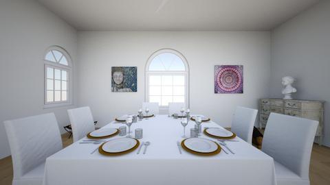 House  - Modern - Bedroom - by alialialo