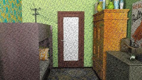 dorm - Retro - Bedroom  - by Orlando Amy