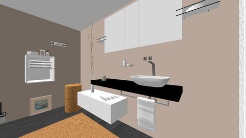 CLAU baie proiect 10 - Bathroom  - by Claudia Ilisan