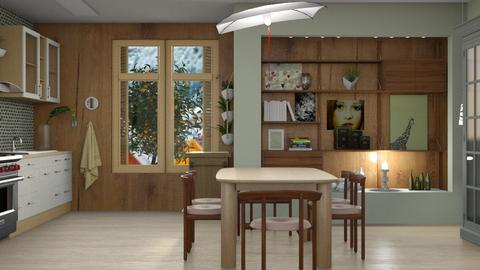 Scandi dining - Modern - Dining room  - by augustmoon