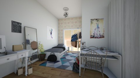 Fashionista Dorm Apartment - by Sunny Bunny