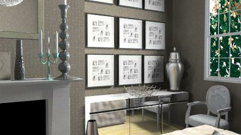 SmokeAndMirrors-Detail1 - Glamour - Living room  - by camilla_saurus