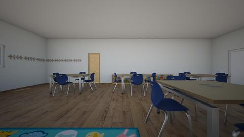 MI AULA 17 - Kids room  - by korice