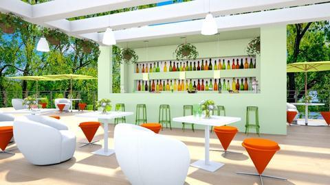 Restaurant Bar - by BibiMarton